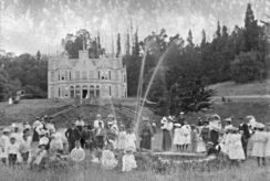 Otekaieke Station picnic about 1900