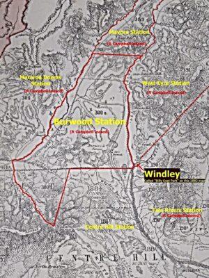 Burwood Station Map 1882